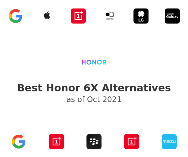 Best Honor 6X Alternatives