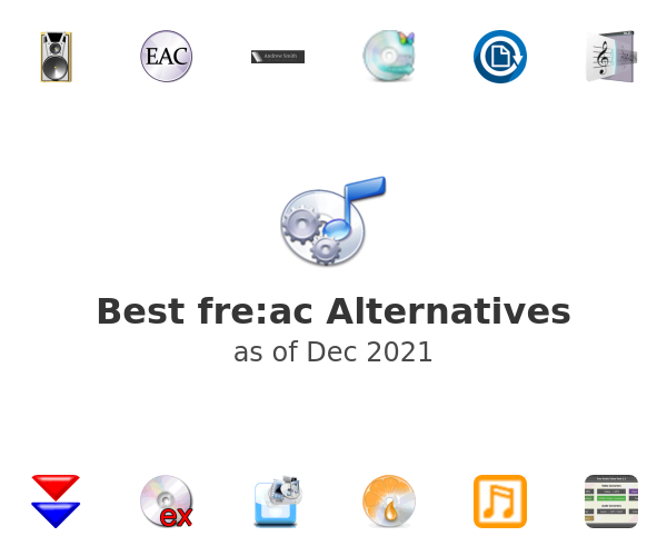 Best fre:ac Alternatives