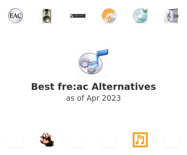 Best fre:ac Alternatives