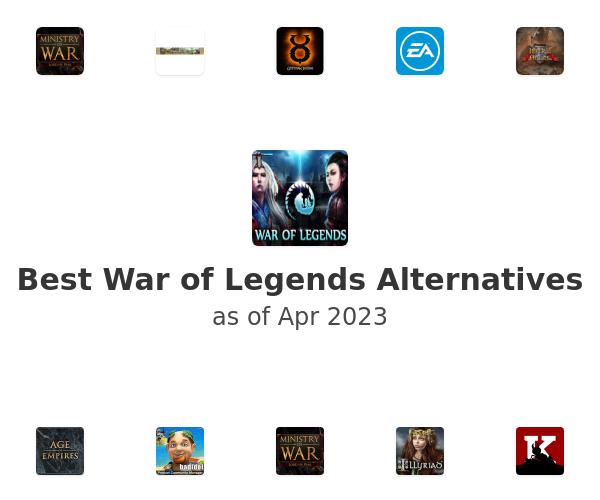 Best War of Legends Alternatives