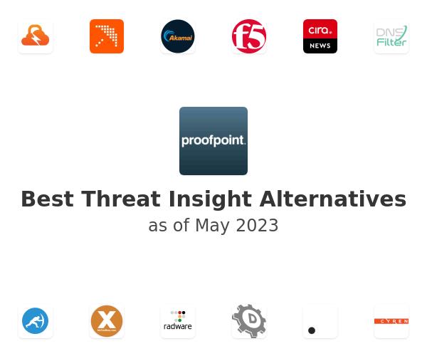 Best Threat Insight Alternatives