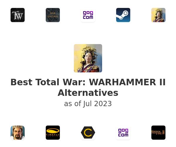 Best Total War: WARHAMMER II Alternatives