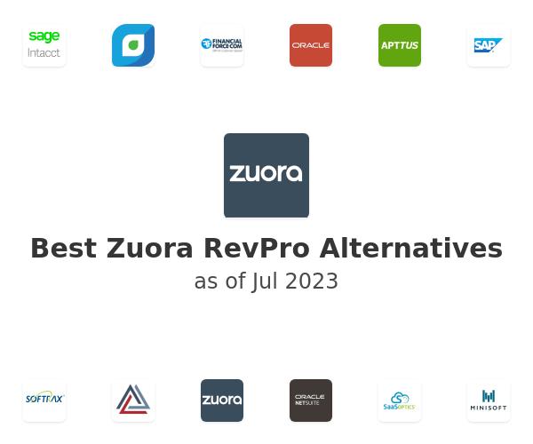 Best Zuora RevPro Alternatives