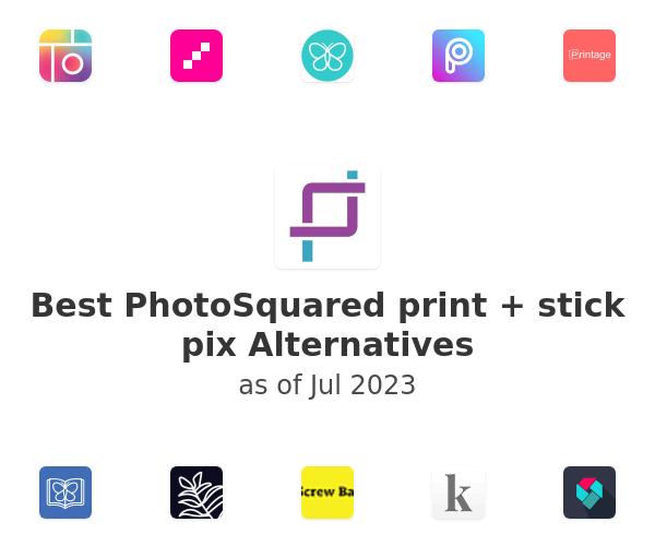 Best PhotoSquared print + stick pix Alternatives