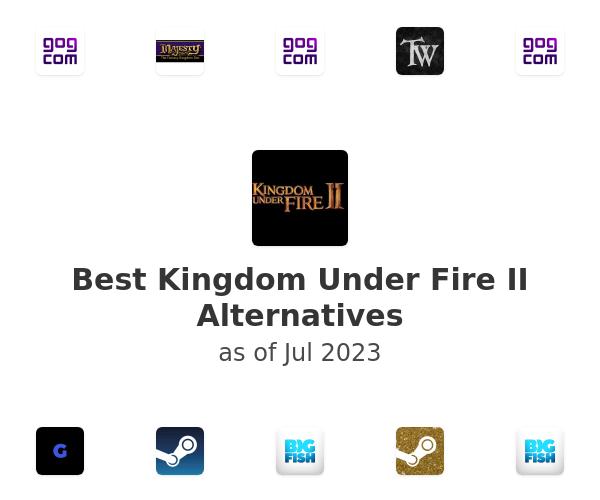 Best Kingdom Under Fire II Alternatives
