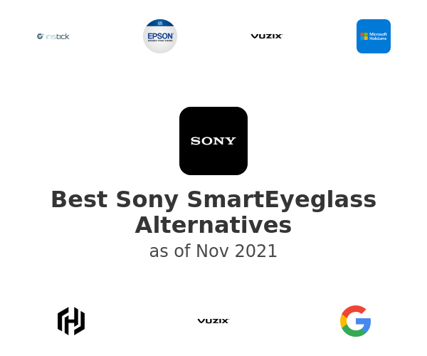 Best Sony SmartEyeglass Alternatives
