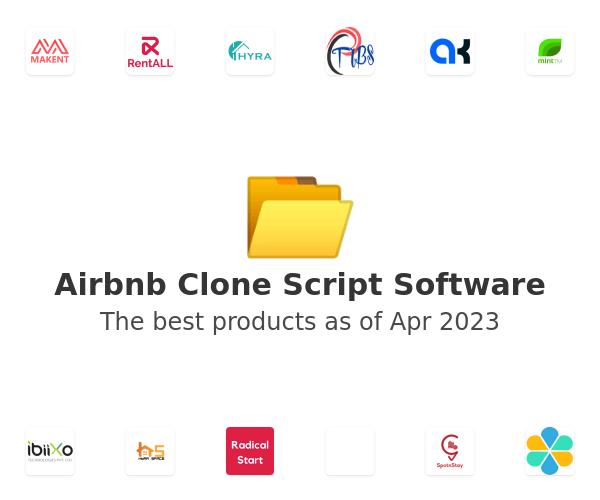 Airbnb Clone Script Software