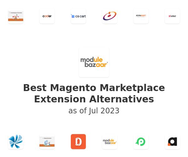 Best Magento Marketplace Extension Alternatives