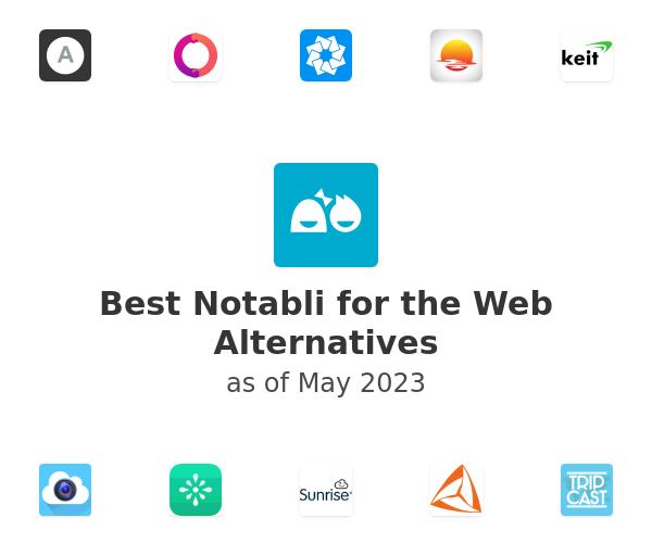 Best Notabli for the Web Alternatives