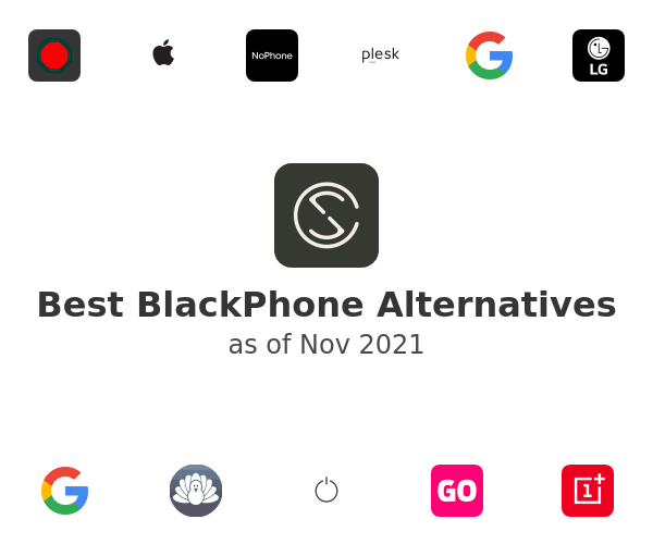Best BlackPhone Alternatives