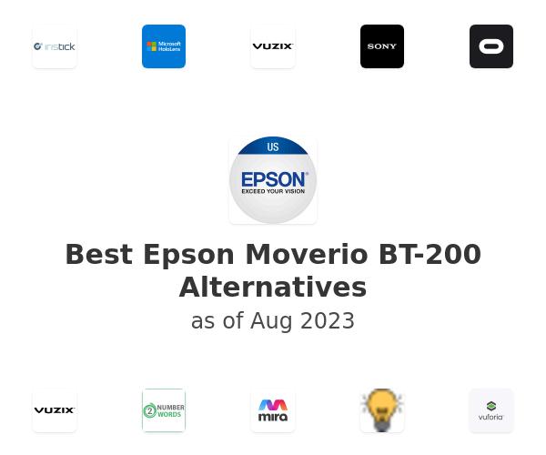 Best Epson Moverio BT-200 Alternatives