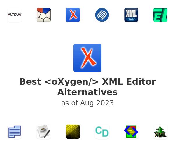 Best <oXygen/> XML Editor Alternatives