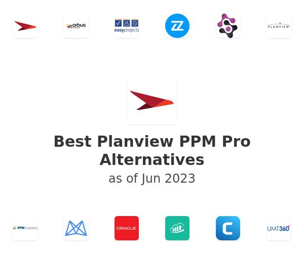 Best Planview PPM Pro Alternatives