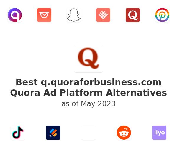 Best Quora Ad Platform Alternatives