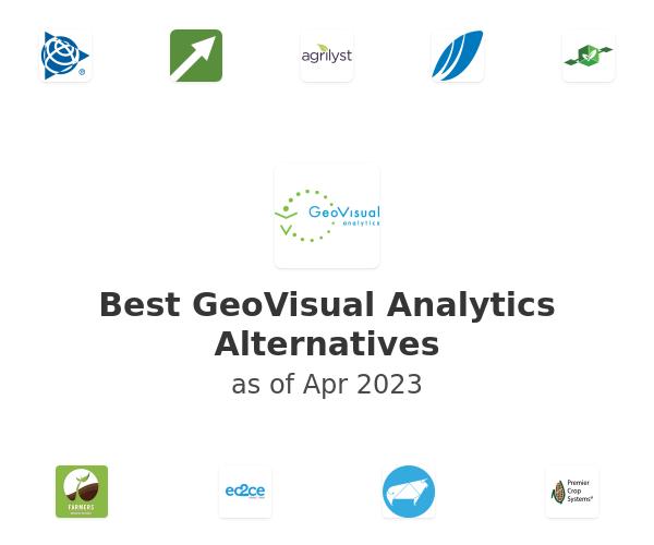 Best GeoVisual Analytics Alternatives