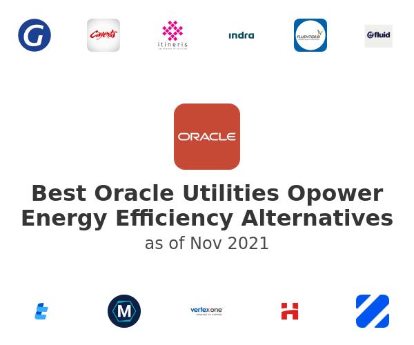 Best Oracle Utilities Opower Energy Efficiency Alternatives