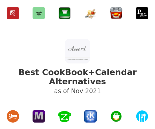 Best CookBook+Calendar Alternatives