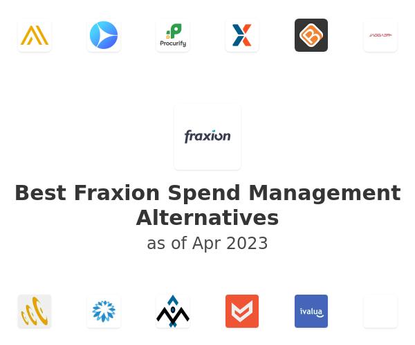 Best Fraxion Spend Management Alternatives