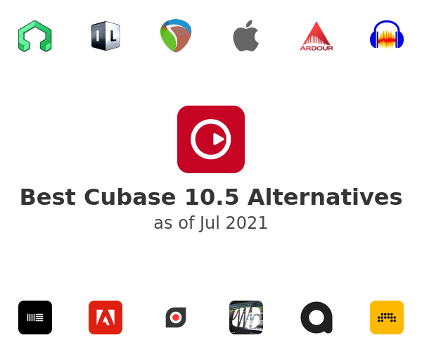Best Cubase 10.5 Alternatives