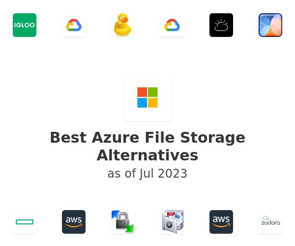Best Azure File Storage Alternatives