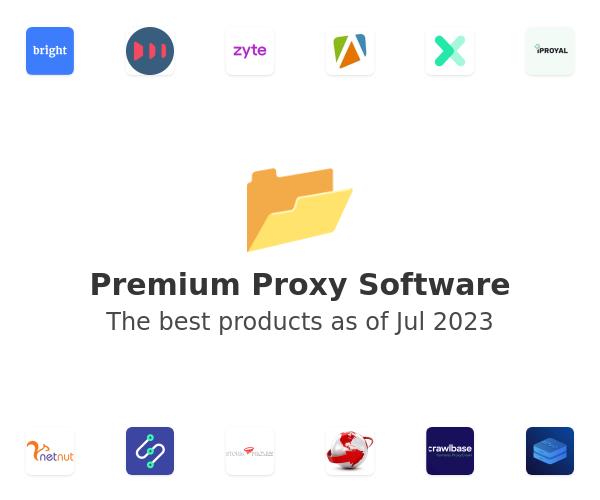 Premium Proxy Software