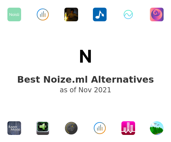 Best Noize.ml Alternatives