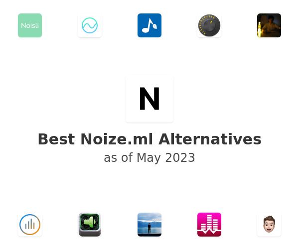 Best Noize.ml Alternatives