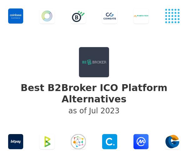 Best B2Broker ICO Platform Alternatives