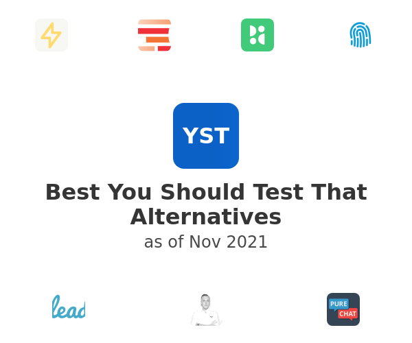 Best You Should Test That Alternatives
