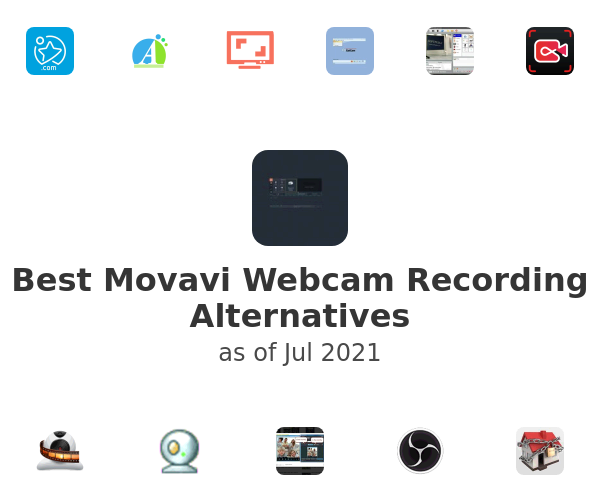 Best Movavi Webcam Recording Alternatives