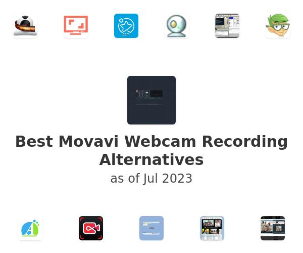 Best Movavi Webcam Recording Alternatives