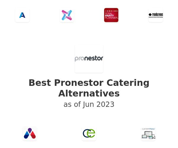 Best Pronestor Catering Alternatives
