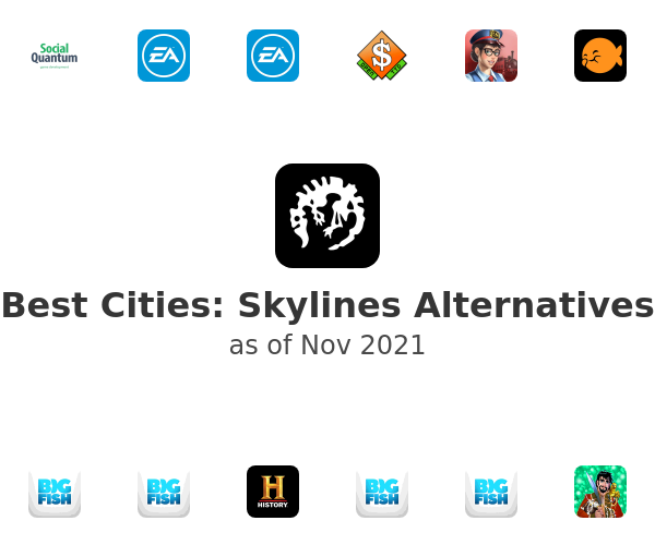 Best Cities: Skylines Alternatives