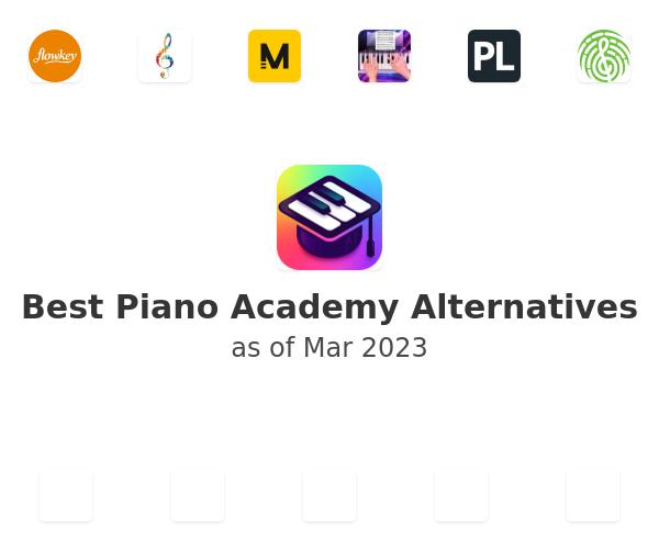 Best Piano Academy Alternatives