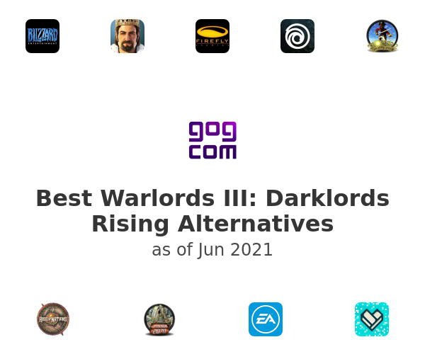 Best Warlords III: Darklords Rising Alternatives