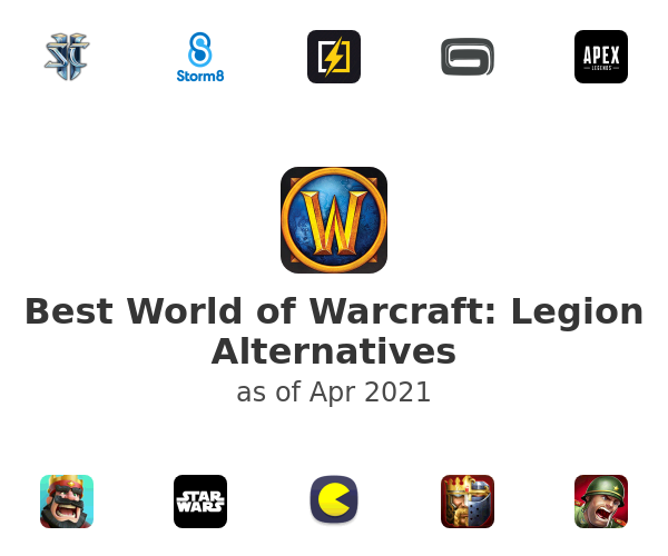 Best World of Warcraft: Legion Alternatives