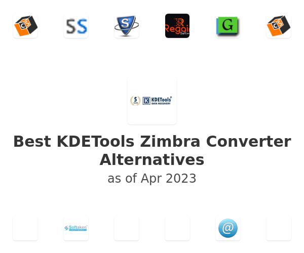Best KDETools Zimbra Converter Alternatives