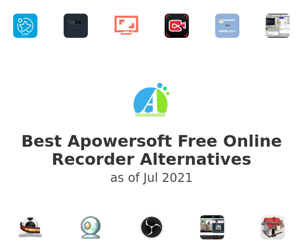 Best Apowersoft Free Online Recorder Alternatives