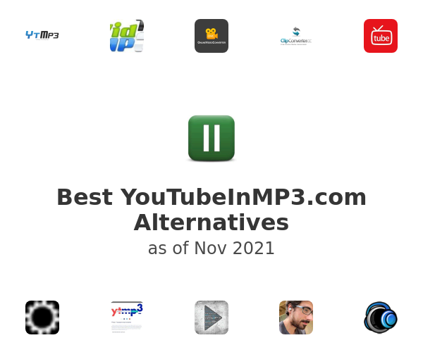 Best YouTubeInMP3.com Alternatives