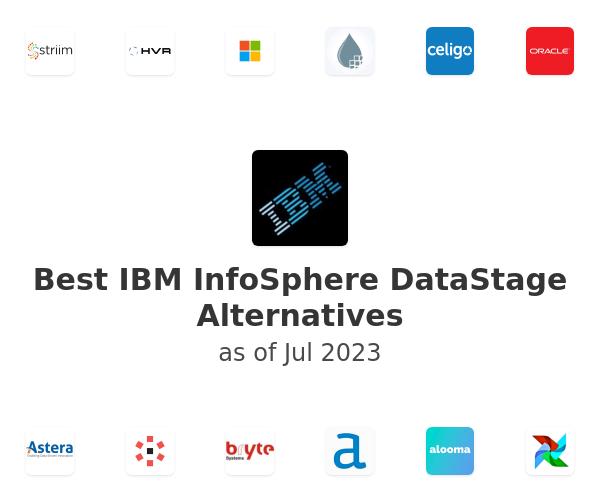 Best IBM InfoSphere DataStage Alternatives