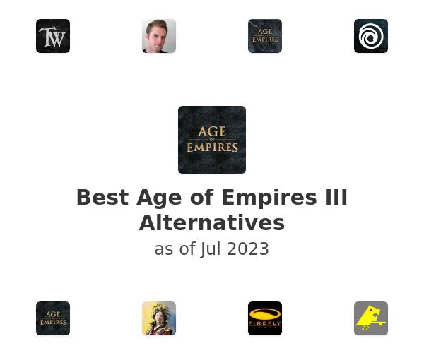Best Age of Empires III Alternatives