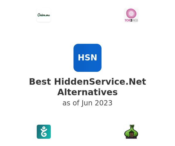 Best HiddenService.Net Alternatives