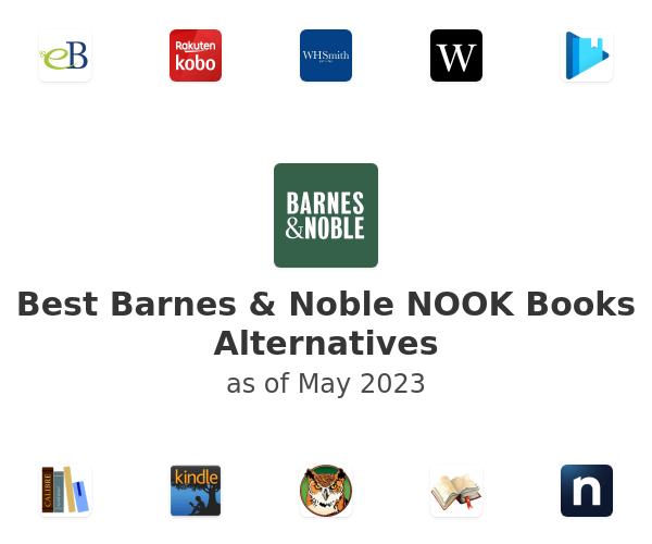 Best Barnes & Noble NOOK Books Alternatives