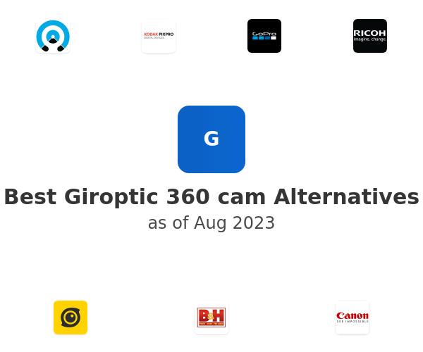 Best Giroptic 360 cam Alternatives
