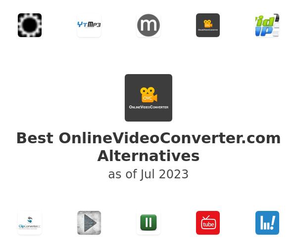 Best OnlineVideoConverter.com Alternatives