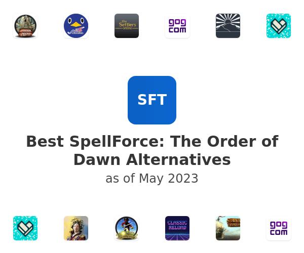 Best SpellForce: The Order of Dawn Alternatives