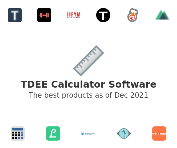 TDEE Calculator Software