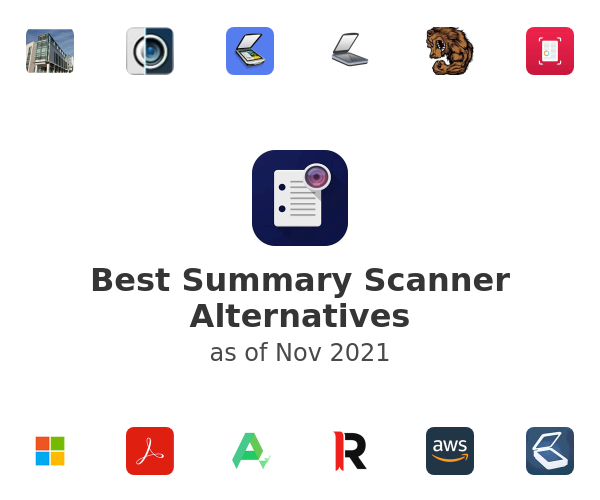 Best Summary Scanner Alternatives