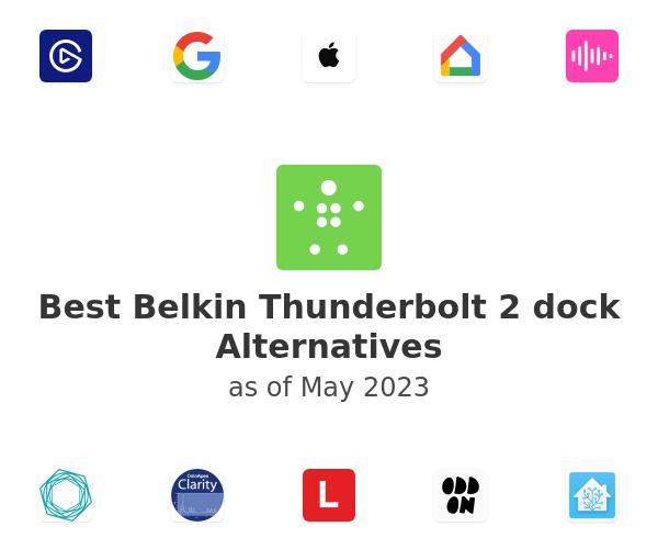 Best Belkin Thunderbolt 2 dock Alternatives