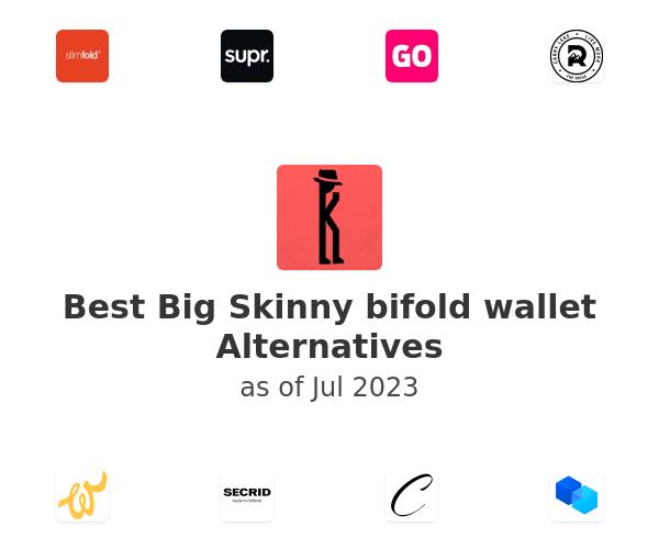 Best Big Skinny bifold wallet Alternatives